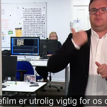 Dänische TV-Sendung für Gehörlose: Døvefilm vor dem Aus?