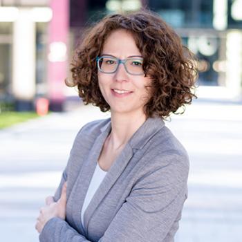 Freut sich auf die 4. DeafIT Conference: Nicole Weißkopf vom Organisationsteam